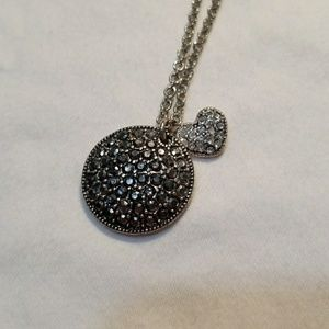 Jewelry - Circle and Heart Necklace